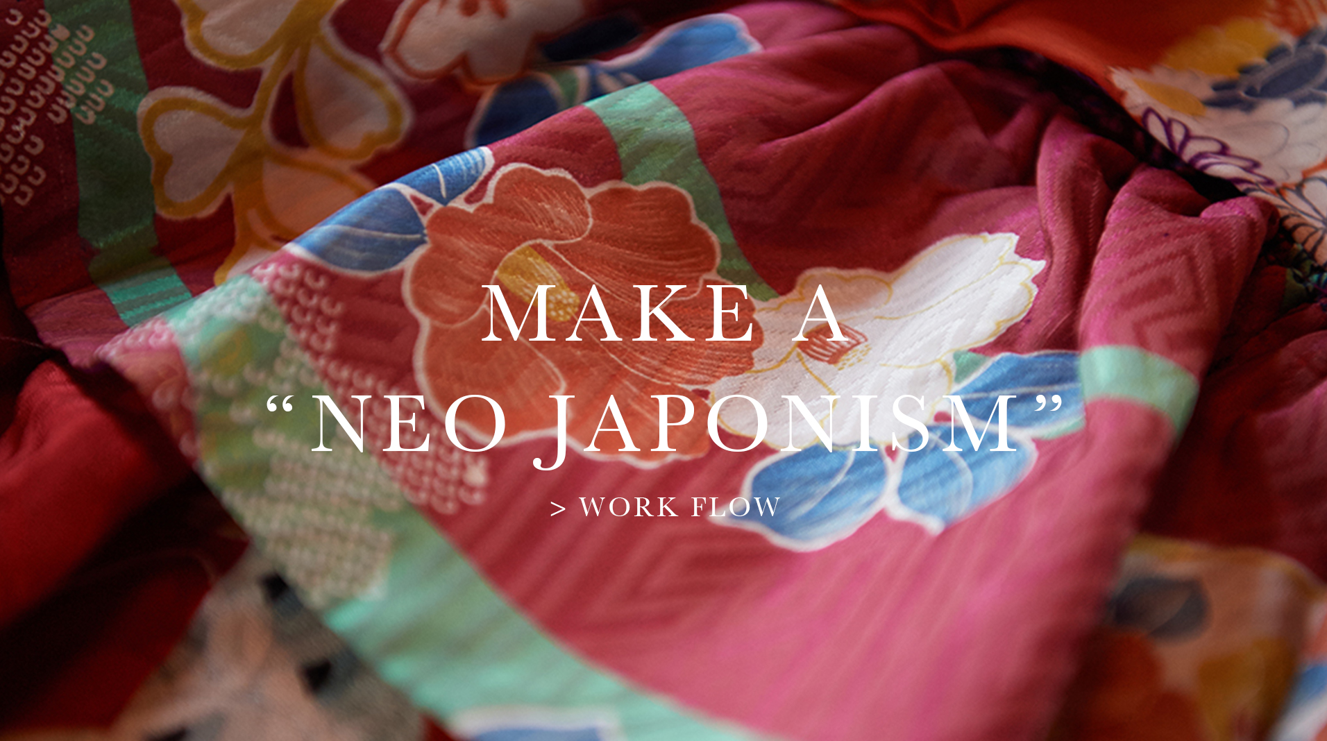 "Make a ""NEO JAPONISM"""